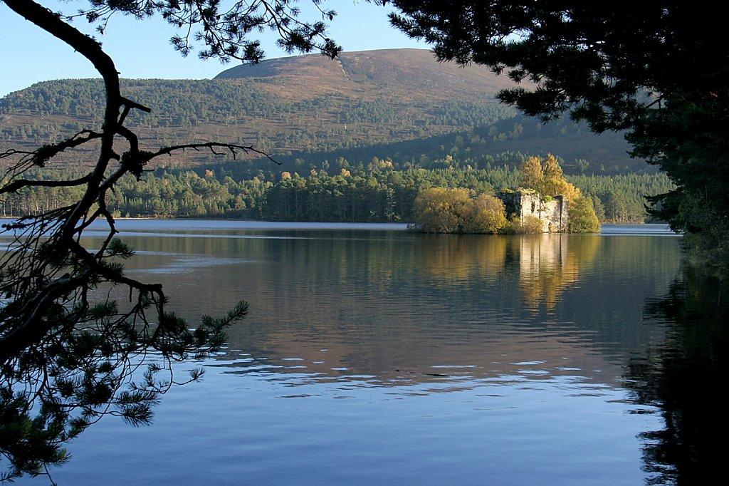 Loch an Eilein castle