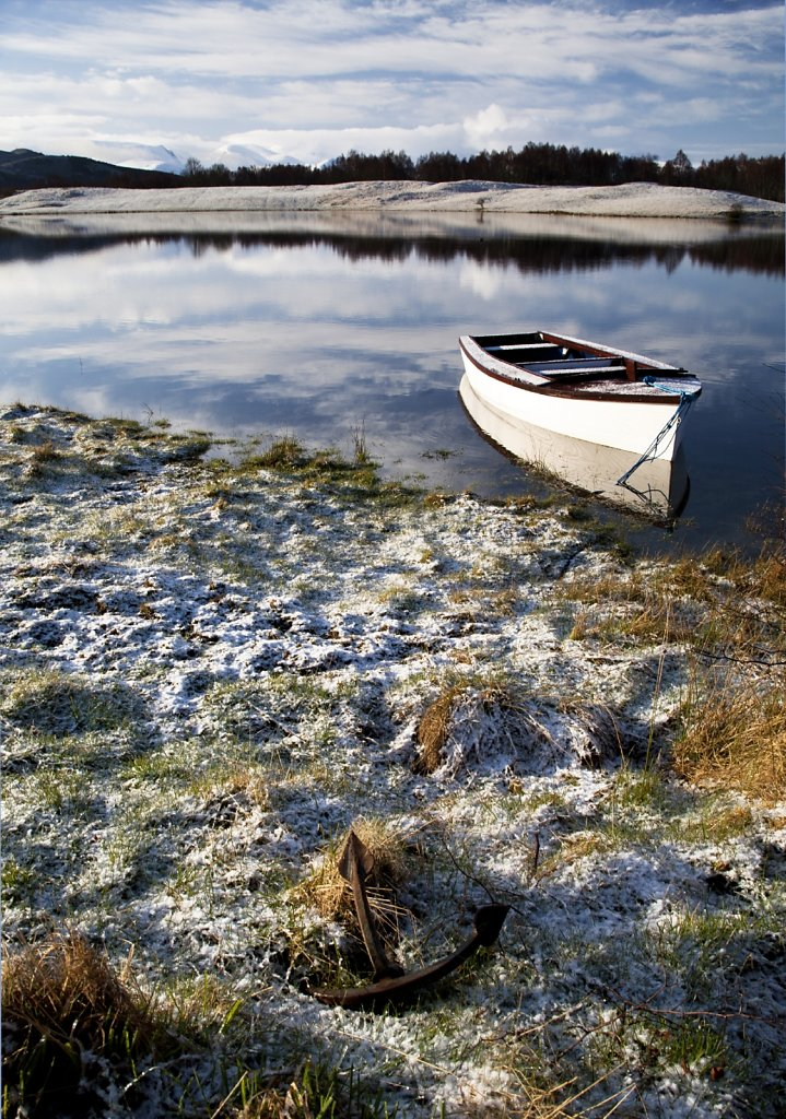 Anchored, Loch Vaa