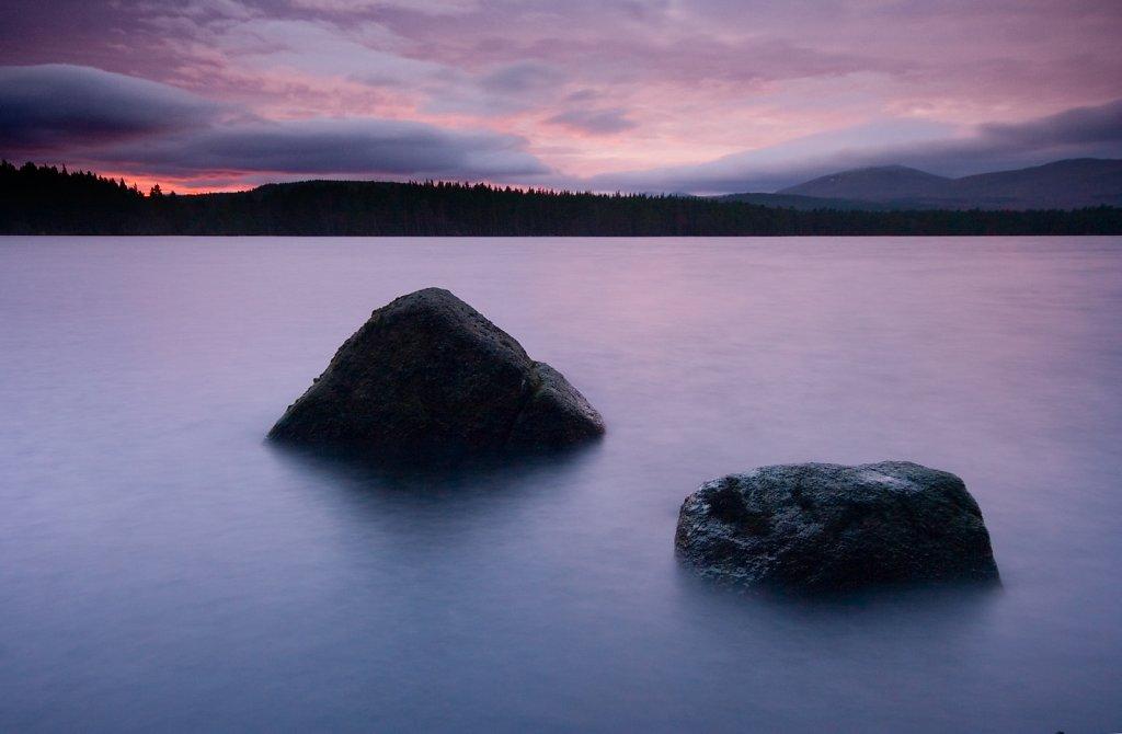 """Two rock sunrise"""