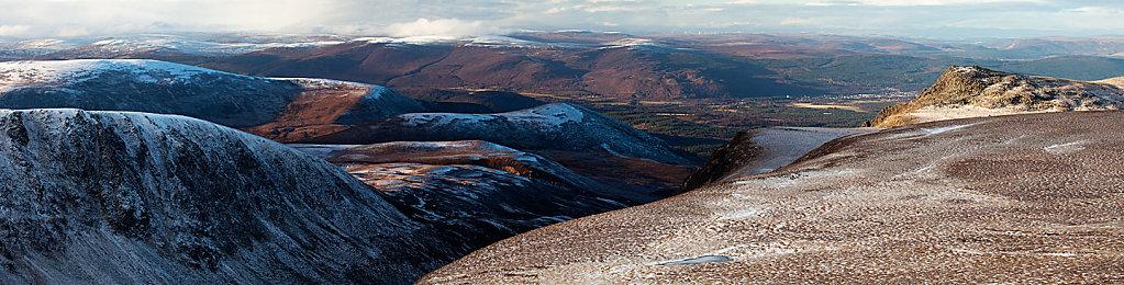 Lurcher`s crag Panorama