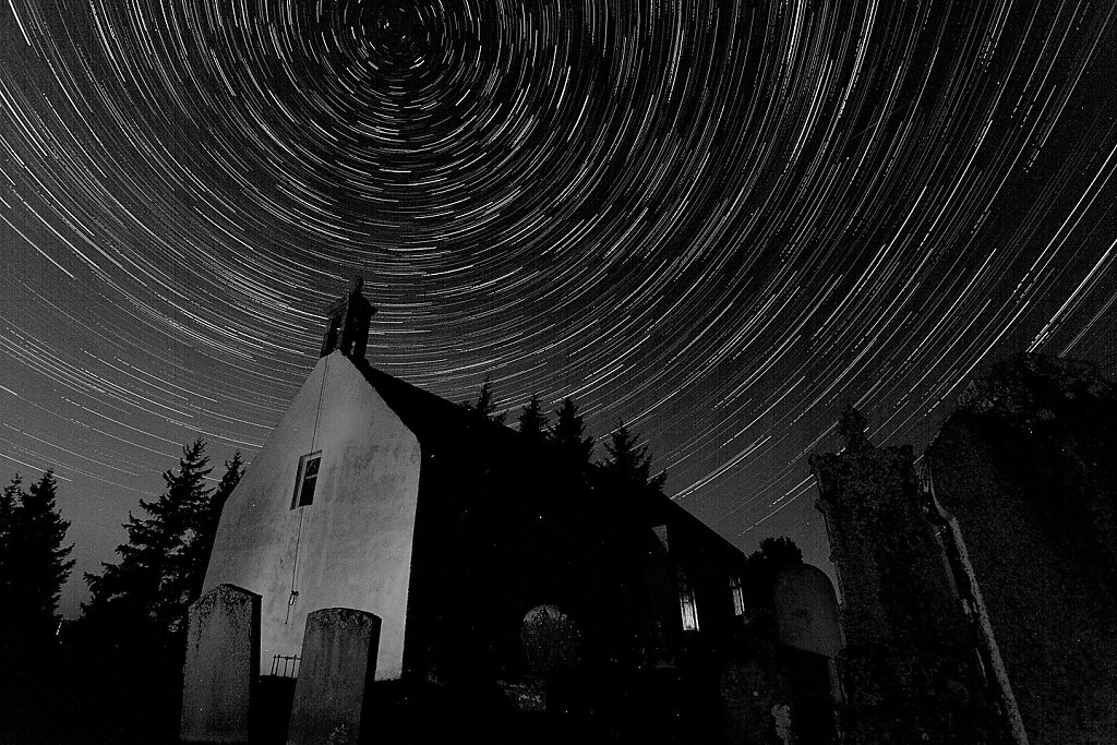 Kincardine star trails