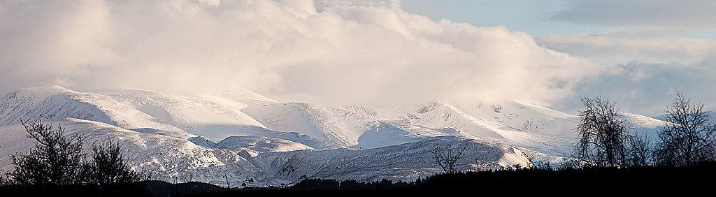 Clachaig view